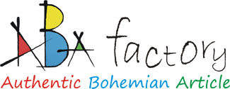Abafactory - Authentic Bohemian Article - logo d´un fabricant de la République tchèque.