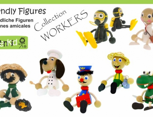 Figurines en bois – Professions