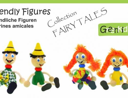 Figurines en bois – Personnages de contes de fées