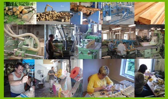 Abafactory - fabrication de jouets en bois, traitement du bois, réalisations et peintures faites à la main.