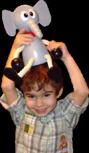 Jouets en bois et décoration pour une chambre enfant Greenkid. Eléphant en boi - une figurine maxi de Abafactory - fabricant tchèque de jouets en bois.